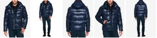 S13 Men's Quilted Down Hooded Puffer Jacket