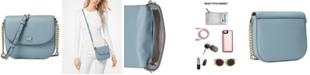 Michael Kors Pebble Leather Half Dome Crossbody