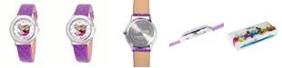ewatchfactory Disney Anna and Elsa Girls'Stainless Steel Watch