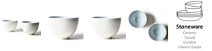 Coton Colors by Laura Johnson His and Hers  Footed Bowl Set/2