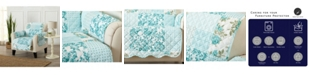 Great Bay Home Fashions Patchwork Scalloped Printed Reversible Chair Furniture Protector