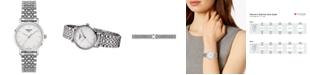 Tissot Women's Swiss T-Classic Everytime Stainless Steel Bracelet Watch 30mm