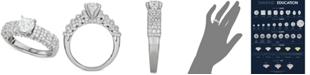 Macy's Diamond Multi-Row Engagement Ring (2-1/7 ct. t.w.) in 14k White Gold