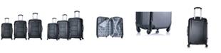 InUSA Pilot 3-Pc. Lightweight Hardside Spinner Luggage Set