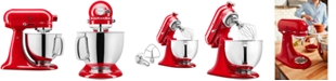KitchenAid 100 Year Limited Edition Queen of Hearts 5-Qt. Tilt-Head Stand Mixer KSM180QHSD