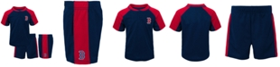Outerstuff Toddlers Boston Red Sox Play Strong Short Set