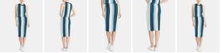 RACHEL Rachel Roy Striped Sweater Tube Skirt