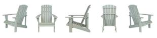 Shine Company Lakewood Rustic Adirondack Chair