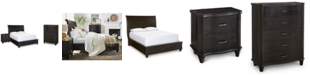 Furniture Closeout! Philip Bedroom Furniture, 3-Pc. (King Bed, Nightstand & Chest), Created for Macy's
