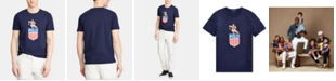 Polo Ralph Lauren Men's Big & Tall Classic-Fit Chariots Graphic T-Shirt