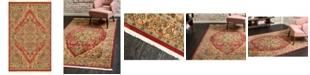 """Bridgeport Home Harik Har9 Red 3' 3"""" x 5' 3"""" Area Rug"""