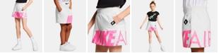 Nike Little Girls Logo-Graphic Scooter Skirt