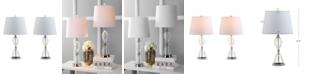 JONATHAN Y Aubrey Crystal LED Table Lamp
