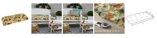 EF Home Decor EF Home Decor Indoor/Outdoor Reversible Wicker Loveseat Cushion