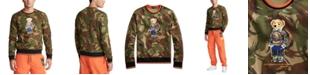 Polo Ralph Lauren Men's Double-Knit Camo Bear Sweatshirt