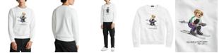 Polo Ralph Lauren Men's Ski Bear Fleece Sweatshirt