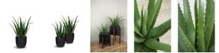 "Le Present Artificial Aloe with Pot 30"""