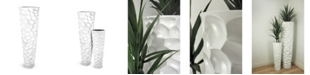 "Le Present Lux Textura Fiberglass Planter 60"""