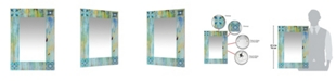 Infinity Instruments Decorative Rectangle Wall Mirror