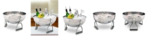 Vagabond House Pewter Stirrup Ice, Wine, Champagne Bucket Tub