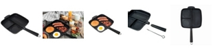 """MasterPan Non-Stick 3 Section Meal Skillet, 11"""""""