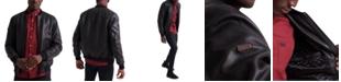 Superdry Men's Leather Flight Bomber Jacket