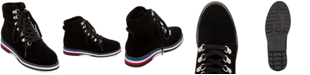 Aqua College Rosie Lace-Up Waterproof Booties, Created for Macy's
