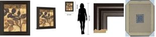 "Classy Art Bronzed Branches I by Norman Wyatt Jr. Framed Print Wall Art, 22"" x 26"""