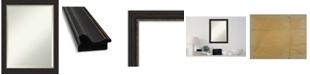 "Amanti Art Accent Framed Bathroom Vanity Wall Mirror, 21.5"" x 27.50"""