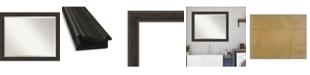 """Amanti Art Shipwreck Framed Bathroom Vanity Wall Mirror, 32"""" x 26"""""""