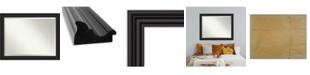 """Amanti Art Colonial Framed Bathroom Vanity Wall Mirror, 45.75"""" x 35.75"""""""
