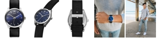 MVMT Men's Nitro Element Blue Leather Strap Watch 43mm