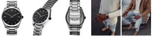 MVMT Men's Ion Silver Element Stainless Steel Bracelet Watch 43mm