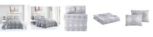 VCNY Home Nevin Matelasse 3PC Full/Queen Quilt Set