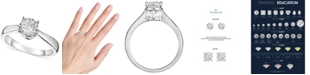 Macy's TruMiracle® Diamond Solitaire Engagement Ring (1 ct. t.w.) in 14k Gold