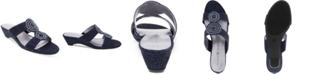 Karen Scott Carri Slide Flat Sandals, Created For Macy's