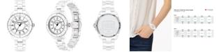 COACH Women's Preston White Ceramic Watch, 32mm