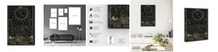 "Oliver Gal The Moon Tarot Canvas Art, 16"" x 24"""