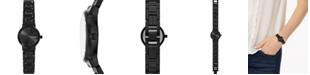 Skagen Women's Freja Black Stainless Steel Bracelet Watch 26mm