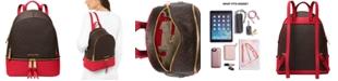 Michael Kors Rhea Zip Leather Backpack