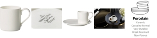 Villeroy & Boch Metro Chic Blanc Coffee Cup
