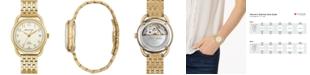 Bulova LIMITED EDITION Women's Swiss Automatic Joseph Bulova Gold-Tone Stainless Steel Bracelet Watch 34.5mm