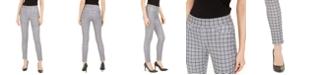 Michael Kors Checkered Leggings, Regular & Petite