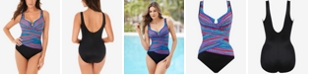 Miraclesuit Carnivale Layered Escape One Piece Swimsuit