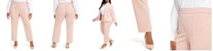 Alfani Plus Size Pull-On Dress Pants, Created for Macy's