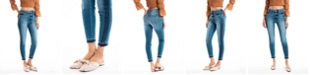 Kancan High Rise Contrast Side Seam Ankle Skinny