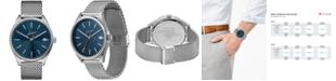 Lacoste Men's Heritage Stainless Steel Mesh Bracelet Watch 42mm
