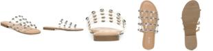 Bar III Pecanna Flat Sandals, Created for Macy's
