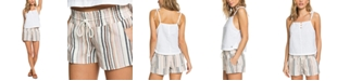Roxy Juniors' Oceanside Striped Beach Shorts