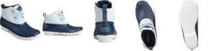 Sperry Saltwater 2-Eye Seersucker Boot